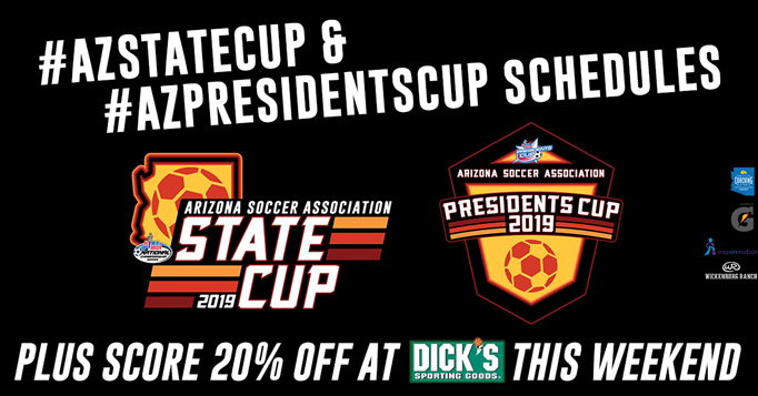 State & Presidents Cup Schedule | Score 20%...