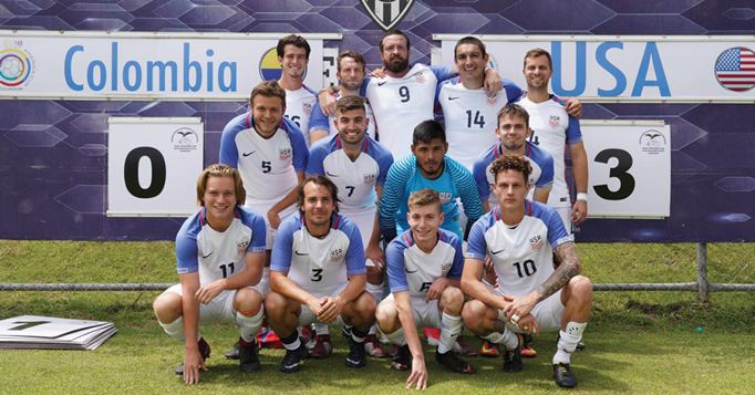 Two AZ Players Named To Para 7-A-Side National T