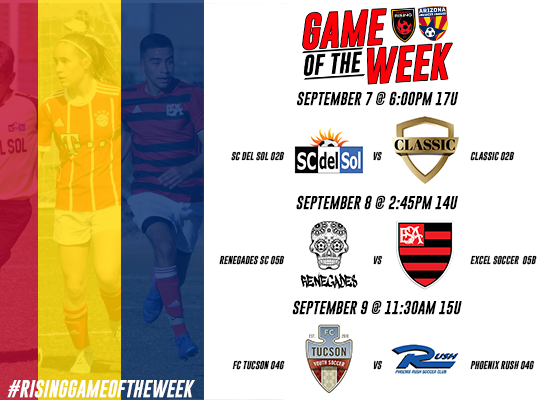 Phoenix Rising Game of the Week