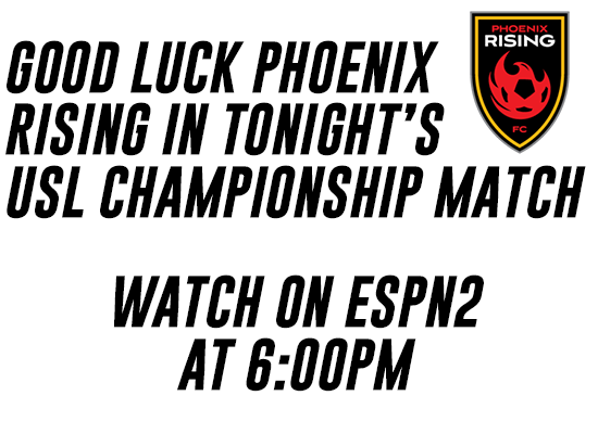 Good Luck Phoenix Rising FC