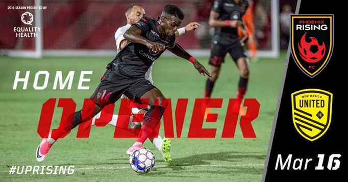 Special ASA Rate For Phoenix Rising Home Opener