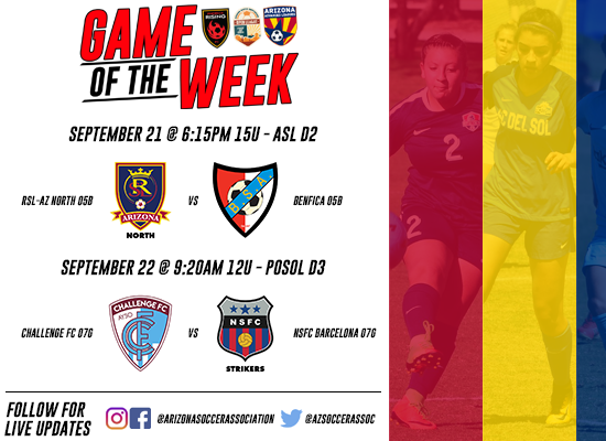 ASA Game of the Week Matches
