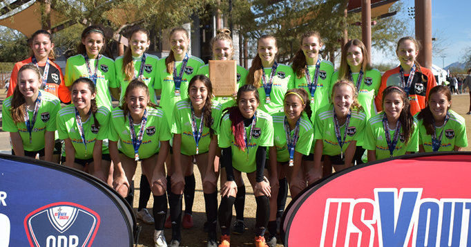 Four Arizona Champions At 2019 ODP West Champion