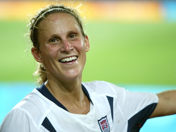 Kristine Lilly Coming to Vermont