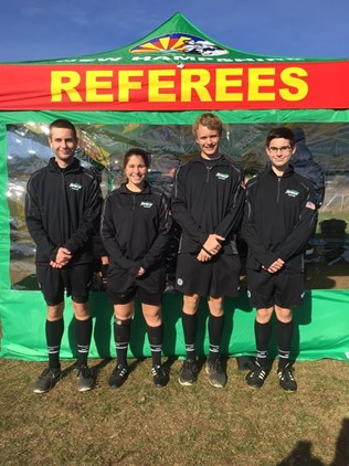 Vermont Referees represent at the 2016 NEI