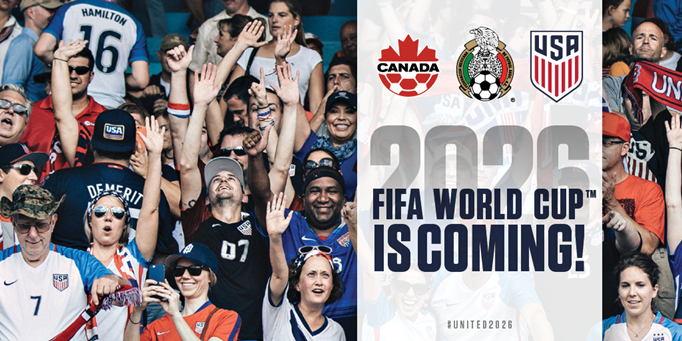 Canada, Mexico, United States to Host 2026...