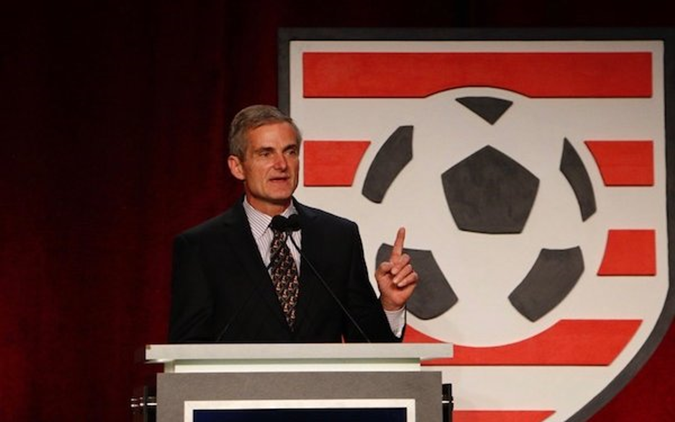 New USYS CEO talks soccer roots, MLS and more