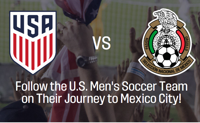 USA v MEX Fan Travel Package