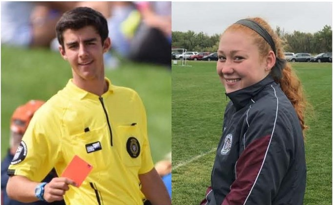 Brells, Tyrrell Earn 2017 Young Referee Honors