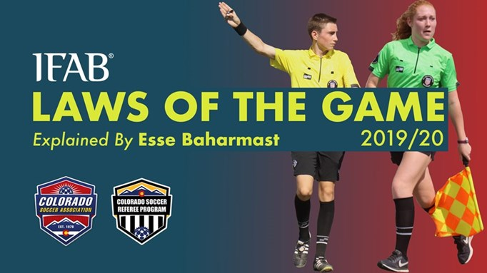 2019/20 IFAB Laws of the Game: Changes...