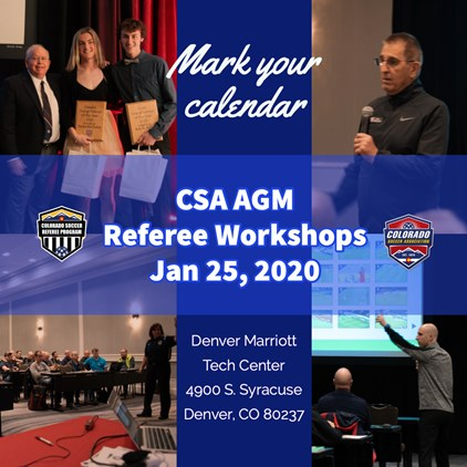 Referee Workshops at CSA AGM