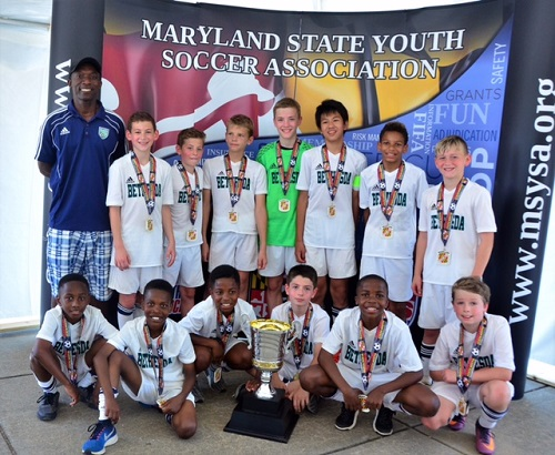 BSC Blue 05 State Cup Champions 12u FINAL