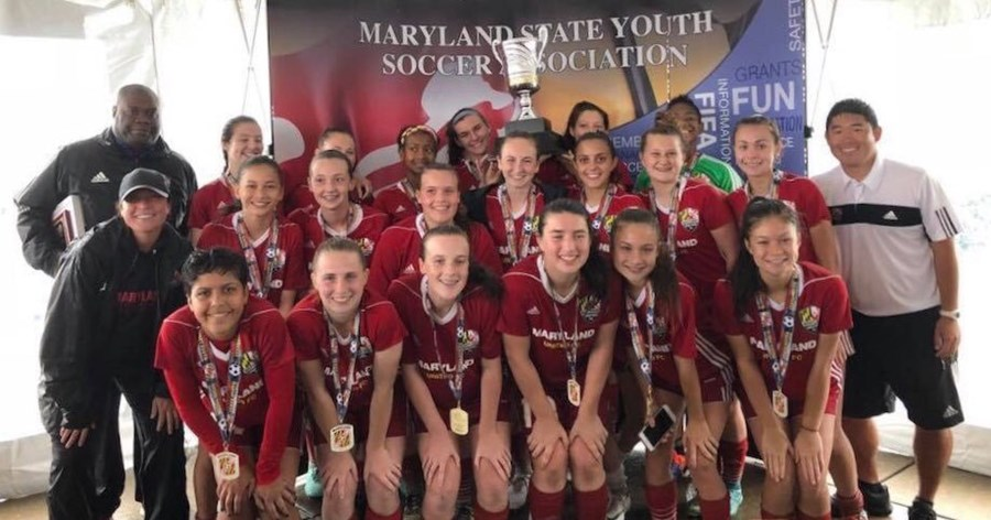 15U Girls Maryland United