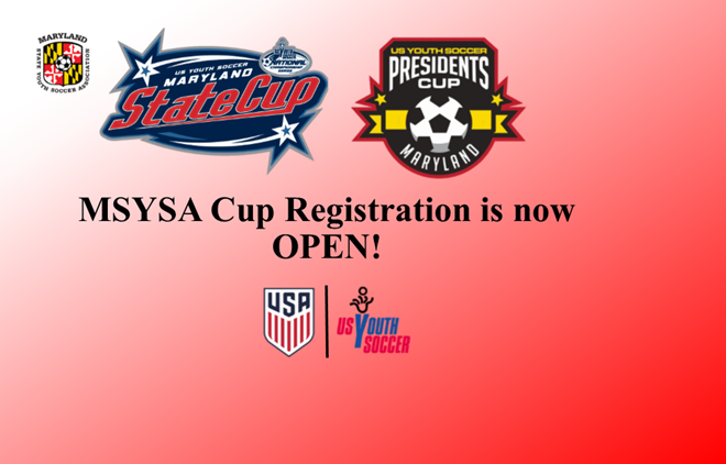 Maryland Cup Registration is Now OPEN!