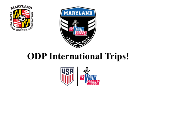 ODP International Trips!