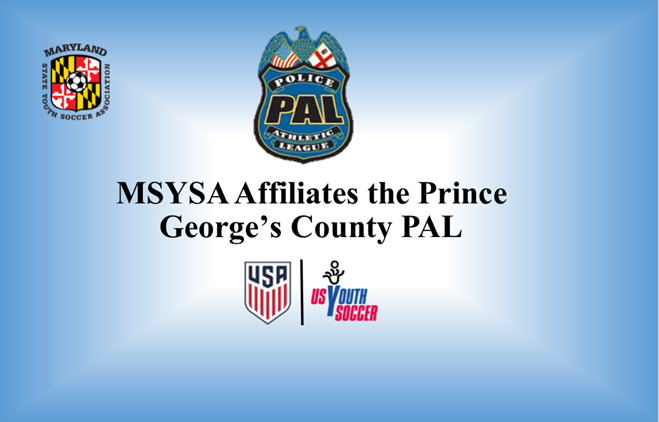 MSYSA Affiliates PG County PAL