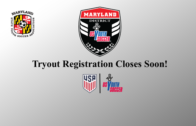 District ODP Tryout Registration Closes Soon!