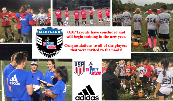 2017 MD ODP Tryouts Closed