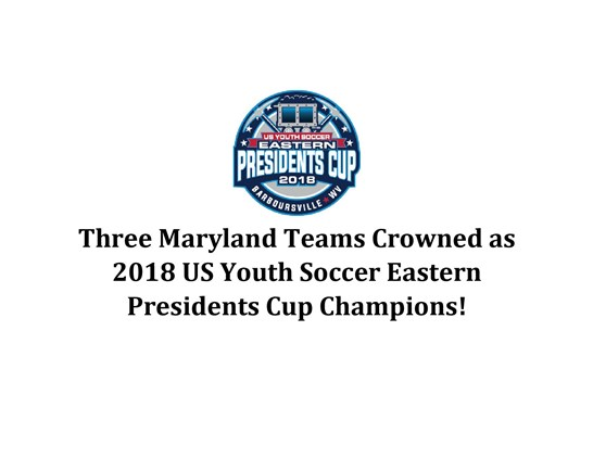 Three Maryland Teams Crowned as US Youth...