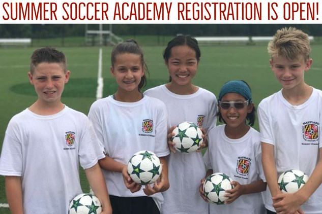 Summer Soccer Academy Registration is OPEN!
