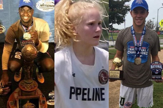 Three Maryland Youth Soccer Players Win...
