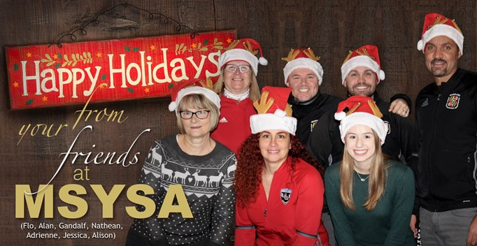 Happy Holidays from MSYSA!