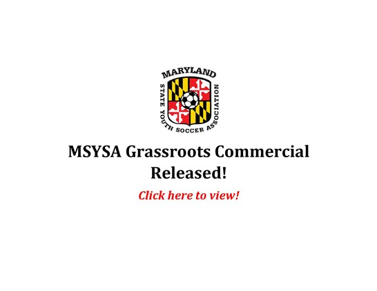 MSYSA Commercial Released!