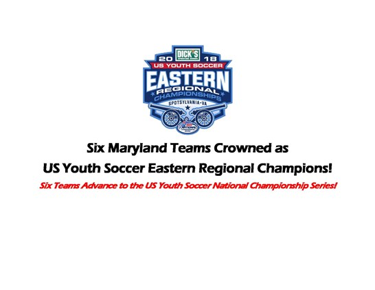 Six Maryland Teams Crowned as US Youth...