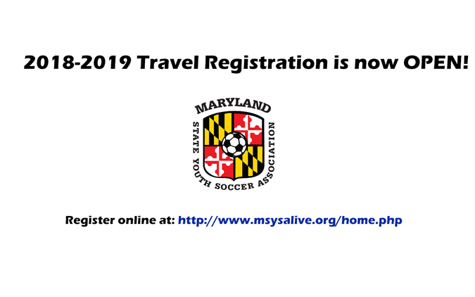 2018-2019 Travel Team Registration Now OPEN!