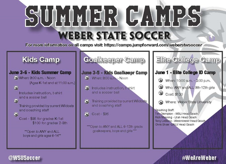 Summer Soccer Camp Graphics