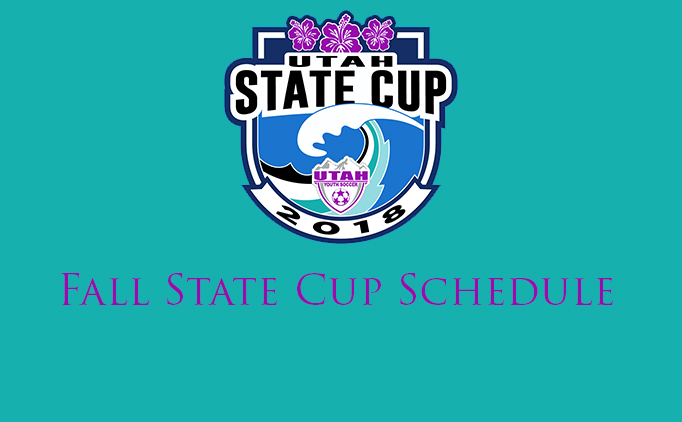 Fall State Cup Schedule