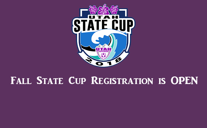 2017 Fall State Cup Registration is OPEN