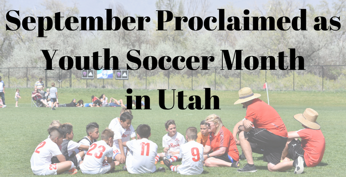 Governor Proclaims September As Youth Soccer...