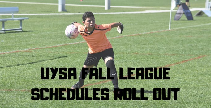 UYSA Fall League Schedules Released