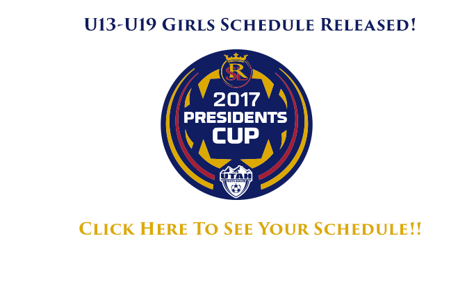 2017 RSL President's Cup Schedule Released...