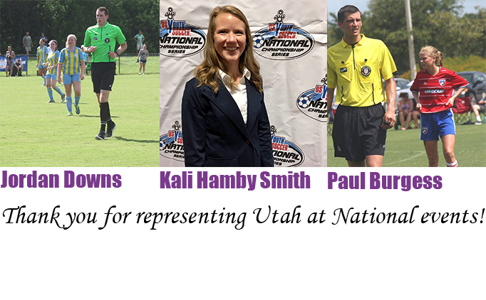 3 Utah Referees Receive National Recognition