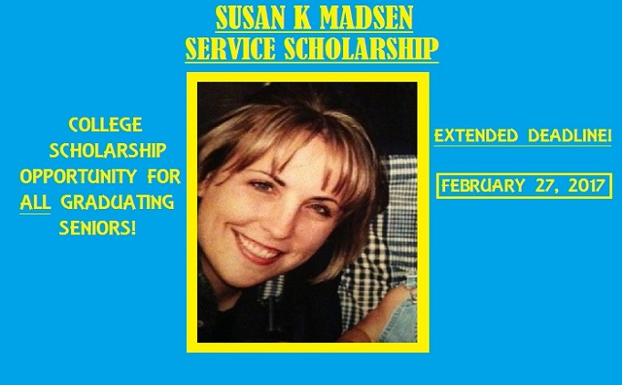 Don't forget to apply for the Susan K Madsen...
