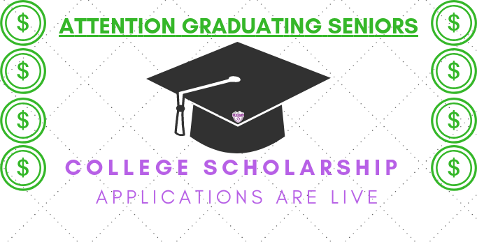College Scholarship Applications are open!