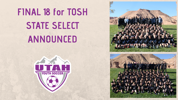 TOSH State Select Final 18 Announced