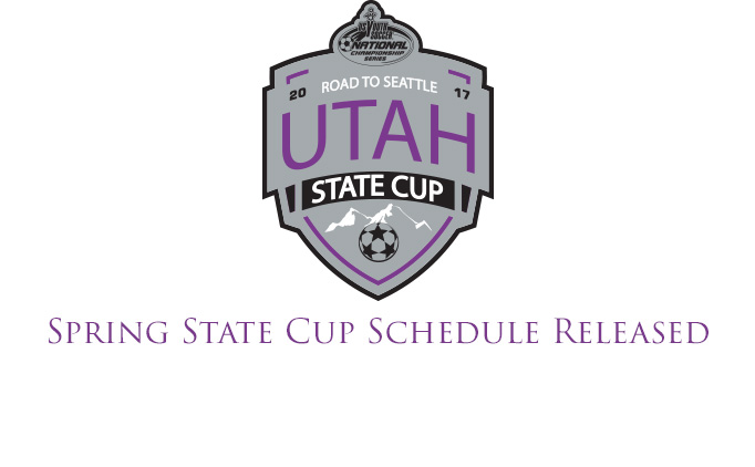 Spring State Cup Schedule Released!
