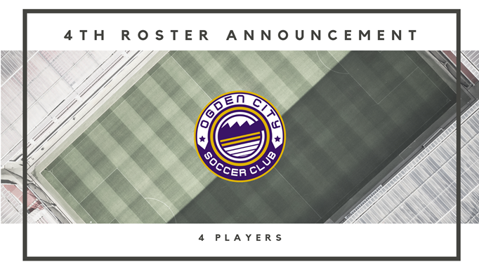 Ogden City SC Adds Four More Players