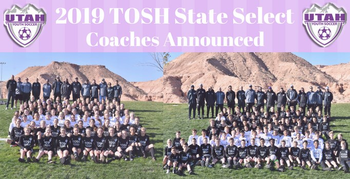 TOSH State Select Team Coaches Announced