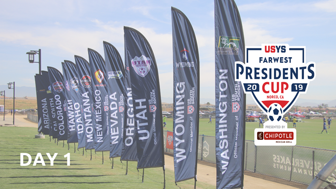 Day 1 Regional Presidents Cup