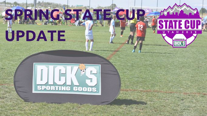 Spring State Cup Thursday and Saturday Schedules