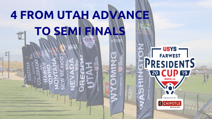 4 From Utah Advance to Semi Finals