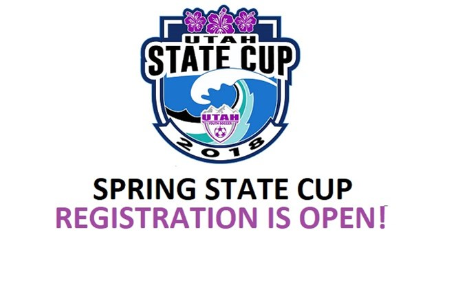Spring State Cup Registration is OPEN!