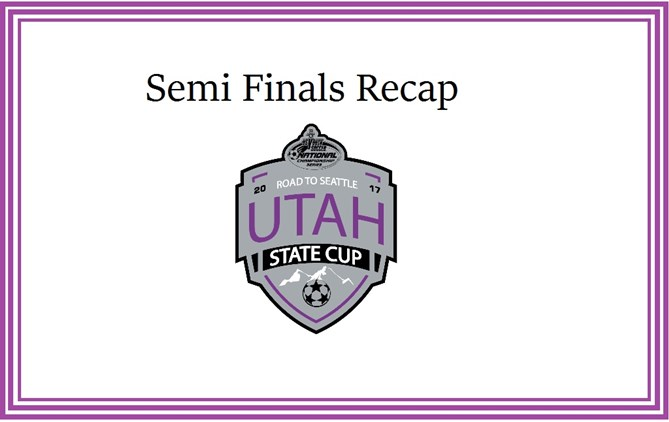 Fall State Cup Semifinals Set