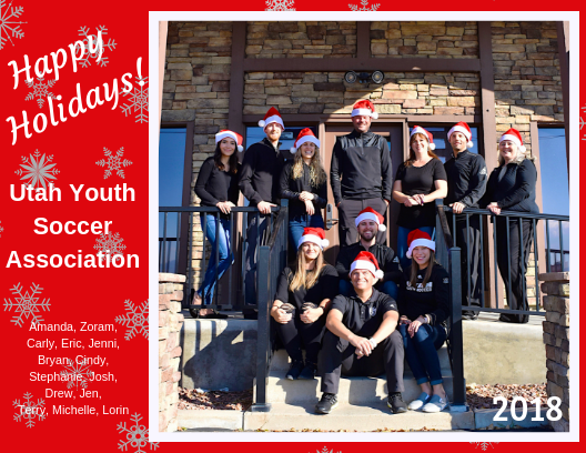 UYSA Staff Wishes You a Happy Holidays