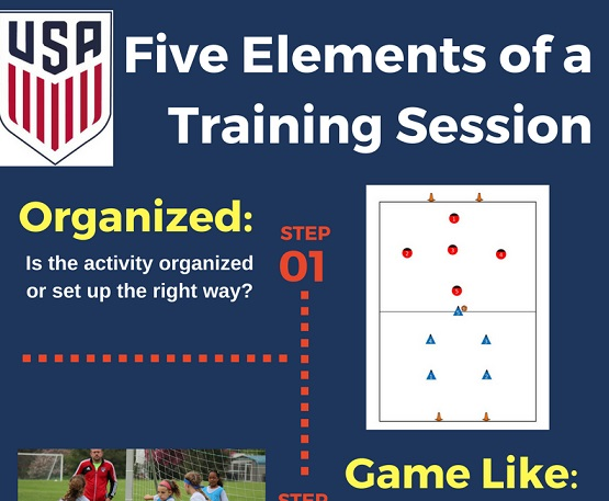 Five Elements of a Training Session