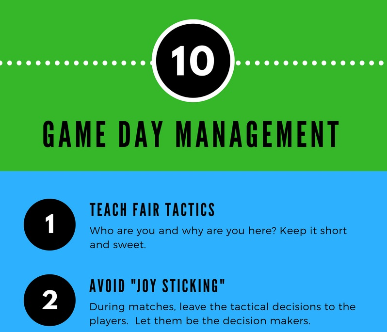 SMALL Game Day Management